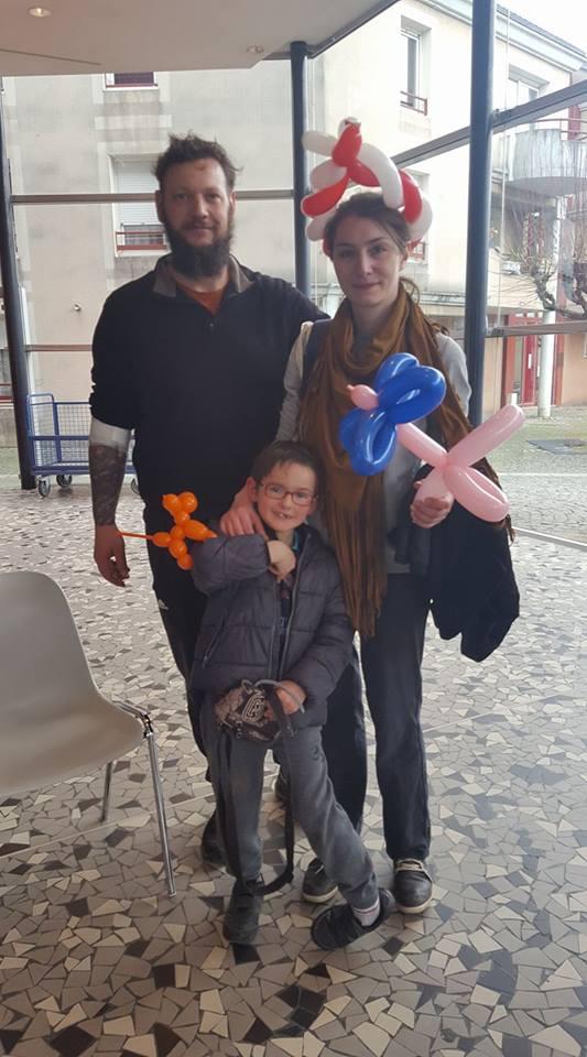 une famille après le don  merci centre communication périgueux