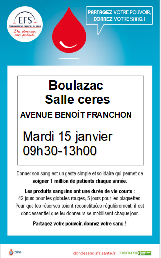 Boulazac 15 janv 19