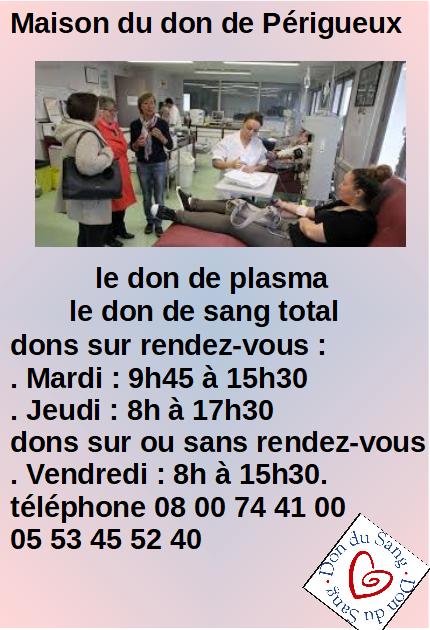 Info maison du don
